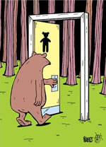 Bear Outhouse