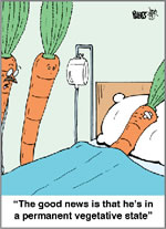 Carrot Vegetative State