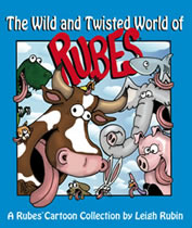 Leigh's new book - The Wild and Twisted World of Rubes