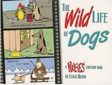 Leigh's cartoon book Wild Life of Dogs