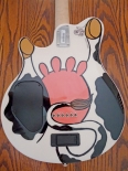cow guitar back