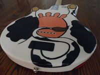 Cow Guitar back bottom