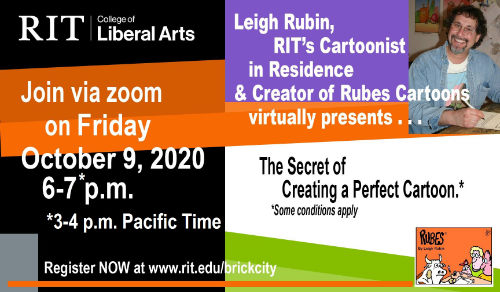 create a perfect cartoon event at RIT