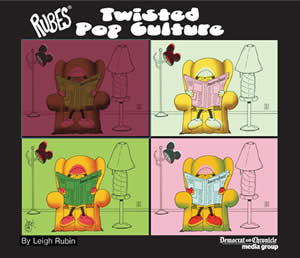 Twisted Pop Culture book of cartoons