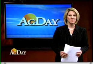 Interview of Leigh Rubin on Friday Funnies as seen on AgDay #2
