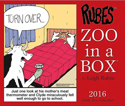 Rubes 2016 Zoo in a Box Calendar