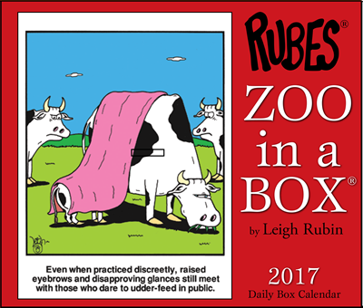 Zoo in a Box Calendar 2017