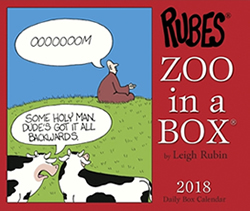 Zoo in a Box Calendar 2018