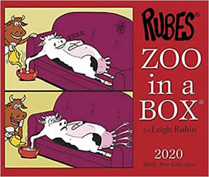 Zoo in a Box Calendar 2020